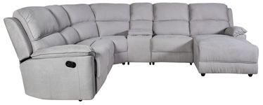 Угловой диван Home4you Paradise 21511, серый, правый, 280 x 163 x 102 см
