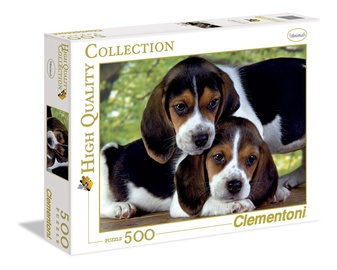 Pusle Clementoni Bigliai, 500 osa