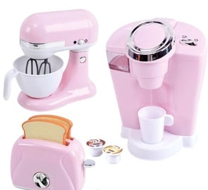 PlayGo Perfect Kitchen Appliance Trio Pink 38236