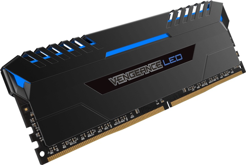 Corsair Vengeance LED Blue 32GB 3000MHz CL16 DDR4 KIT OF 2 CMU32GX4M2C3000C16B
