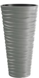 Prosperplast Sand Slim 34.9cm Grey