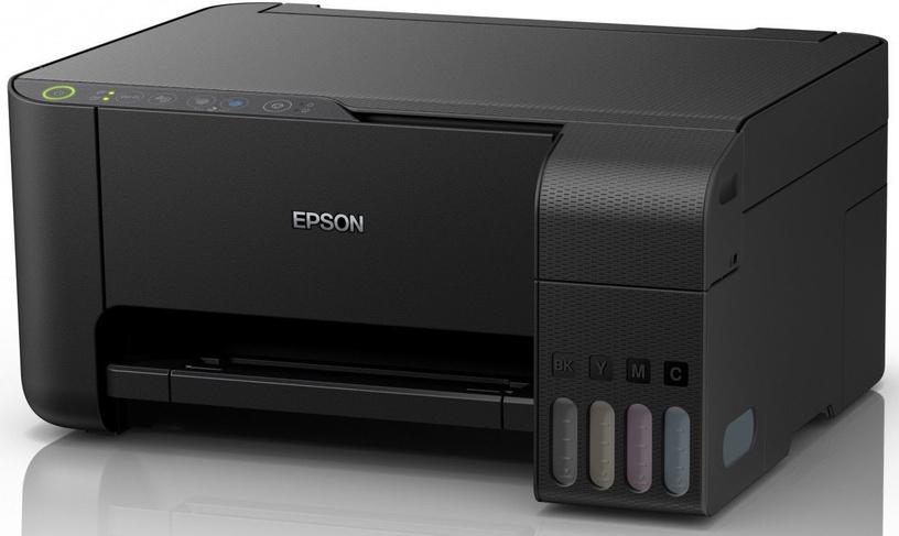 Multifunktsionaalne printer Epson L3150, tindiga, värviline