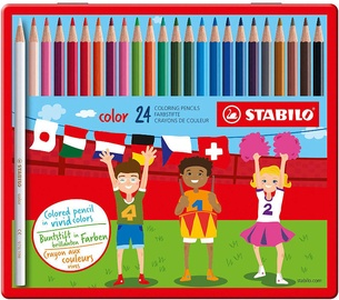 Stabilo Coloring Pencils Metal Case 24pcs