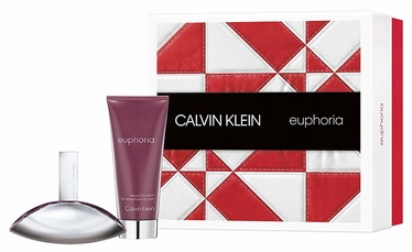 Calvin Klein Euphoria 100ml EDP + 100ml Body Lotion