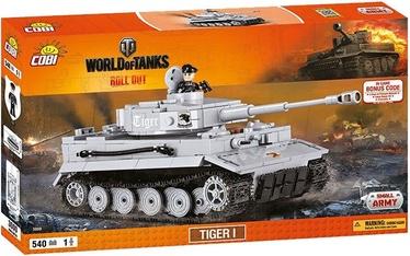 Cobi World Of Tanks Tiger I Constructor