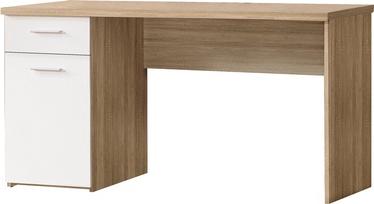 Письменный стол Forte MT936 Q36 Oak/White