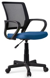 Halmar Joel Children Chair Black/Blue