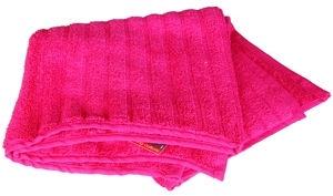 Verners Frotee Lines Pattern 50x100cm Pink