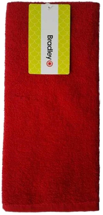 Bradley Kitchen Towel 40x60cm Red