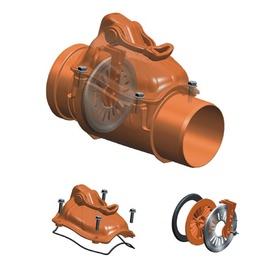Kanalisatsiooni tagasilöögi-kontrollklapp Magnaplast, PVC, 110 mm