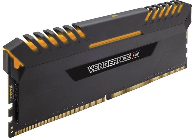 Corsair Vengeance RGB LED 64GB 2666MHz CL16 DDR4 KIT OF 4 CMR64GX4M4A2666C16