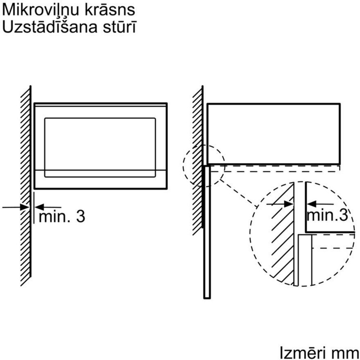 Integreeritav mikrolaineahi Bosch BFL524MB0