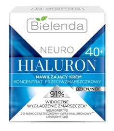 Bielenda Neuro Hyaluron Moisturizing Anti-Wrinkle Cream-Concentrate 40+ Day/Night 50ml