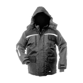 Baltic Canvas Jacket Artic FB-8924 Grey/Black XXL