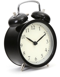 Platinet Alarm Clock March Black 43631