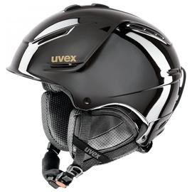 Uvex Ski Helmet P1us Pro Chrome LTD Black Chrome 55-59