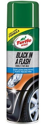 Turtle Wax Green Line Black in A Flash 500ml