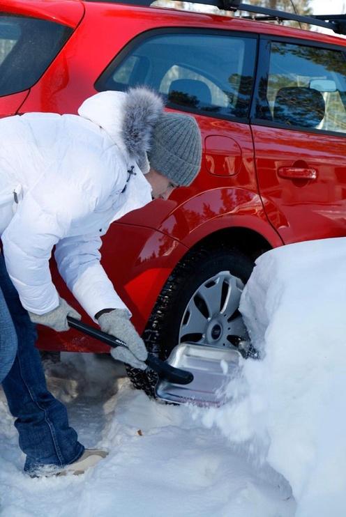 Fiskars Snow Light Car Spade