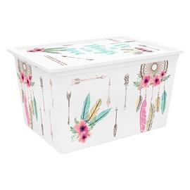 Laegas kaanega Kis C-BOX Quotes XL 50 l, plast