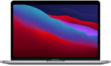 Sülearvuti Apple MacBook Pro Retina with Touch Bar Space Grey M1, 8GB/512GB, 13.3""