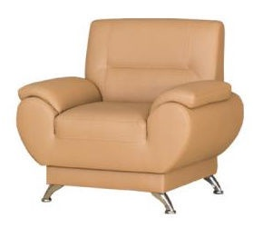 Kanclers Livonia Armchair Eco Leather Beige