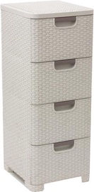 Curver Style Chest 4 Beige 0806605885