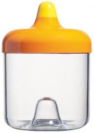 ViceVersa Round Canister 0.75L Orange