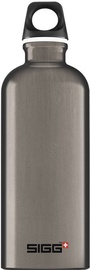 Sigg Water Bottle Traveller Smoked Pearl 1L