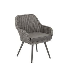 Home4you Retro Garden Chair Grey