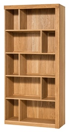 Szynaka Meble Velle 16 Shelf 95x202x42cm Oak