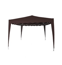 SN Folding Gazebo 3 x 3m Brown