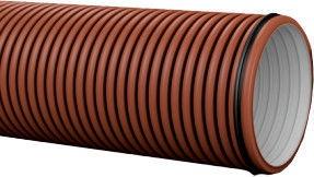 Pipelife Pragma Pipe Brown D200 3m