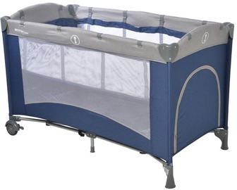 Britton Siesta Travel Cot Dark Navy B2467