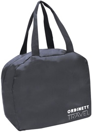 Ordinett Travel Bag Foldable 36.5x18x32cm Grey