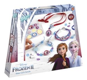 Käevõrude valmistamise komplekt Totum Frozen II Sister Love Jewels 680661