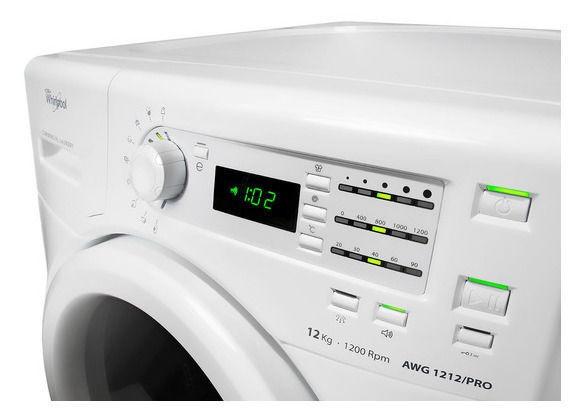 Whirlpool AWG 1212 PRO Washing Machine White