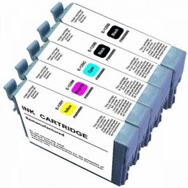 Uprint Cartridge for Epson 15ml x2 + 12ml x3 Color