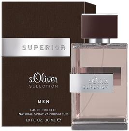 Tualettvesi S.Oliver Superior Men 30ml EDT
