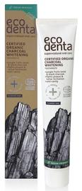 Отбеливающая зубная паста с органическим углем, сертифицированная ECODENTA, 75 ml