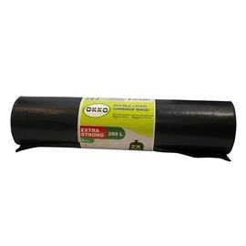 Okko Double Layer Garbage Bags 350l 5pcs Black