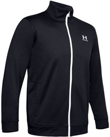 Under Armour Sportstyle Tricot Mens Jacket 1329293-002 Black L