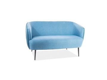 Diivan Signal Meble Lenox 2 Blue, 79 x 126 x 74 cm