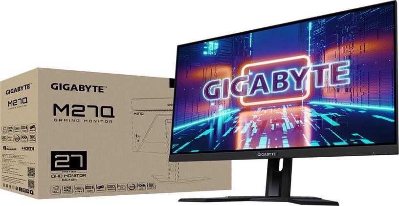 Монитор Gigabyte M27Q KVM, 27″, 0.5 ms