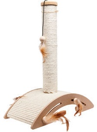 Kraapimispost kassile Karlie Flamingo Sisal+Toy Ella, 40x21x52 cm