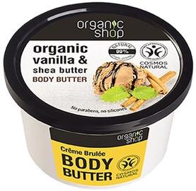 Kehakreem Organic Shop Creme Brulee, 250 ml