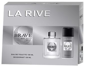 La Rive Brave Man 100ml EDT + 150ml Deodorant Spray