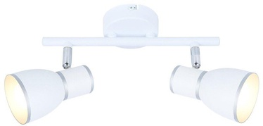 Candellux Fido Spotlight 2x40W E14 White Chrome