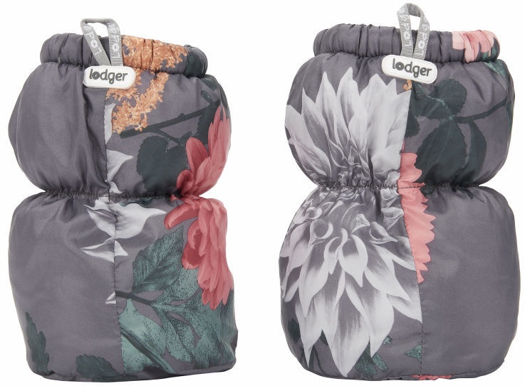 Lodger Baby Polyester Slippers Peony