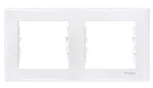 Schneider Electric Sedne Two Way Frame SDN5800321 White