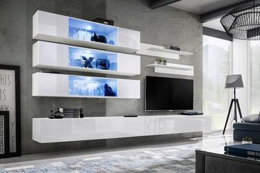 ASM Fly J3 Living Room Wall Unit Set White